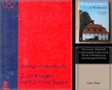 Biographie Sammlung erstellt von Antiquariat am Roßacker