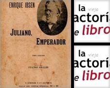 Anticuaria-época, teatro de La Vieja Factoría de Libros