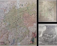 Landkarten Österreich erstellt von Antiquariat Müller