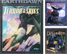 EarthDawn RPG Fantasy Curated by Crotchety Rancher's Books