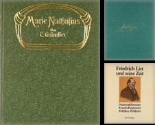 Biographien Sammlung erstellt von Peters Buchkontor