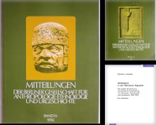 Anthropologie Sammlung erstellt von VersandAntiquariat Claus Sydow