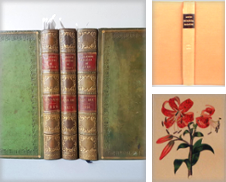Botanical Plate Books Curated by BIANCOLIBRARY