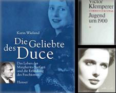 Biographien Sammlung erstellt von Antiquariat carpe diem, Monika Grevers