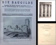 Architecture Sammlung erstellt von Antiquariat Sibylle Böhme