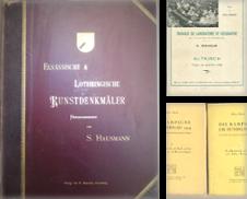 Badenia und Alsatica Sammlung erstellt von Altstadt Antiquariat M. Weiers