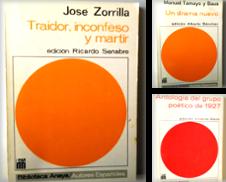Autores Españoles de Librería Salvalibros Express
