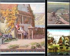 Ansichtskarte Sammlung erstellt von Antiquariat  Alfred Tauchnitz