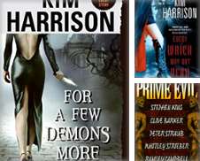 Horror Paperback Curated by Strange Birds Books