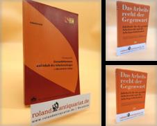 Arbeitsrecht Sammlung erstellt von Roland Antiquariat UG haftungsbeschränkt
