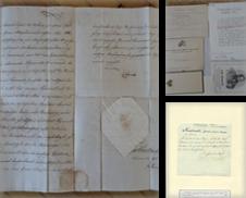 Autographen Sammlung erstellt von Antiquariat Buchseite