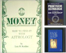 Astrologie Curated by Antiquariat Buchseite