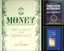 Astrologie Sammlung erstellt von Antiquariat Buchseite