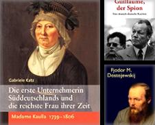Biographien Curated by Antiquariat Bader Tübingen