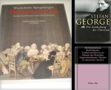 Allgemeine und neuere Germanistik, Sprach- und Literaturwissenschaft Sammlung erstellt von Antiquariat Kai Groß