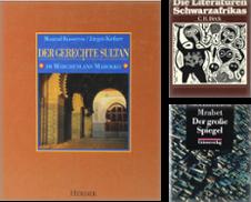 Afrikanische Literatur Sammlung erstellt von Antiquariat Held