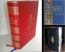 bibeln, missalien, postillen Sammlung erstellt von alt-saarbrücker antiquariat g.w.melling