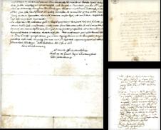 Autographen, Dokumente, Handschriften Sammlung erstellt von Schweriner Antiquariat
