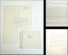 Autographen Sammlung erstellt von Querschnitt Antiquariat