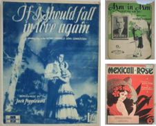 20th Century Popular Sheet Music Curated by At the Sign of the Pipe