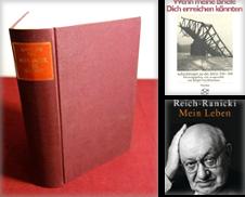 Auto-Biographie & Briefe Sammlung erstellt von Schroeder Verlagsbuchhandlung