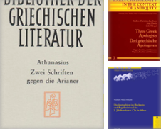 Altgriechisch-Philologie Curated by Antiquariat Thomas Haker GmbH & Co. KG