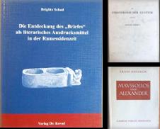 Altertumswissenschaft Sammlung erstellt von Antiquariat Bläschke
