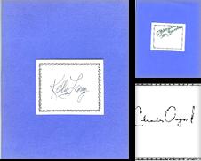 Autographs Celebrity Sammlung erstellt von ODDS & ENDS BOOKS