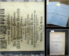 Historische preußische Ostprovinzen Sammlung erstellt von Antiquariat Winfried Scholl (VDA/ILAB)