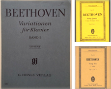 Beethoven (Beethoven Scores) Curated by East Riding Books