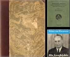 Biographien Sammlung erstellt von Versandantiquariat Boller
