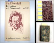 Belletristik Sammlung erstellt von Versand-Antiquariat Konrad von Agris