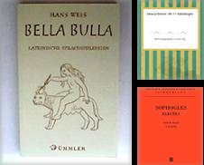 Altphilologie Sammlung erstellt von Antiquariat Christoph Wilde