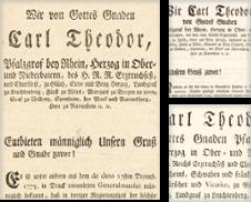 Bayern (Mandat) Sammlung erstellt von Antiquariat Dietrich Schneider-Henn