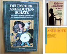 Anekdoten de Antiquariat Buchhandel Daniel Viertel