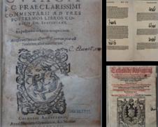 16. Jahrh Sammlung erstellt von Antiquariat  Braun