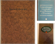 Buchwesen, Typografie Sammlung erstellt von Antiquariat Im Seefeld / Ernst Jetzer