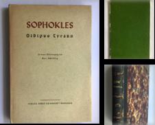 0720 Antike Literatur Sammlung erstellt von Antiquariat Josef Müller