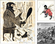 AFFENTHEATER, SINGERIES Sammlung erstellt von Antiquariat Stefan Wulf