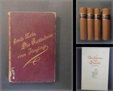 Literatur Sammlung erstellt von Antiquariat Ströter