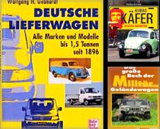 Auto-Flug-Schif Sammlung erstellt von Antiquariat Roland Mayrhans