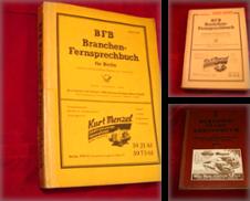 Adressbücher Sammlung erstellt von Antiquariat Olaf Drescher