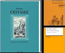 Antike Literatur Sammlung erstellt von Antiquariat Johannes Hauschild