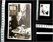 Autogramme & Autographen (Bühne) Sammlung erstellt von Phoenix Antiquariat & Autographen