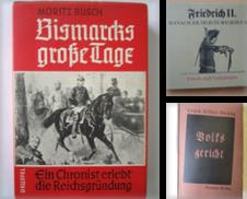 Deutsche Geschichte Sammlung erstellt von Antiquariat Gisa Hinrichsen