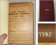 1896 to 1919 Wisdens Curated by Wisden Shop