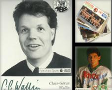 Autogrammkarten Eishockey Sammlung erstellt von Versandantiquariat Höbald