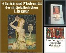 Ältere Deutsche Literatur Sammlung erstellt von TAIXTARCHIV Johannes Krings