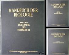 Allgemeine Biologie Sammlung erstellt von Versandantiquariat Harald Quicker