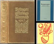 Almanache Sammlung erstellt von Antiquariat Stange